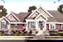 House Design - Traditional Exterior - Front Elevation Plan #46-418