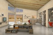 Modern Style House Plan - 2 Beds 2 Baths 1798 Sq/Ft Plan #497-32 Interior - Family Room