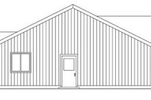 Ranch Exterior - Other Elevation Plan #124-769