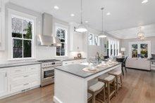 Dream House Plan - Craftsman Interior - Kitchen Plan #48-1007