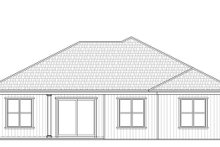 House Plan Design - Craftsman Exterior - Rear Elevation Plan #938-98