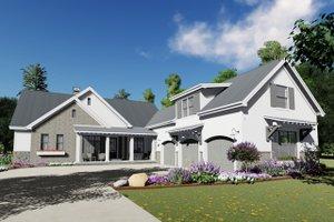 House Plan Design - Farmhouse Exterior - Front Elevation Plan #1069-18