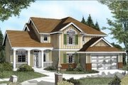 Traditional Style House Plan - 3 Beds 2.5 Baths 2339 Sq/Ft Plan #100-224 Exterior - Front Elevation