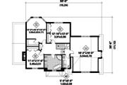 Traditional Style House Plan - 3 Beds 1 Baths 2332 Sq/Ft Plan #25-4795 Floor Plan - Upper Floor Plan