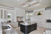 Mediterranean Style House Plan - 5 Beds 5.5 Baths 8001 Sq/Ft Plan #548-5 Interior - Kitchen