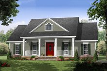 House Design - Southern Exterior - Front Elevation Plan #21-354