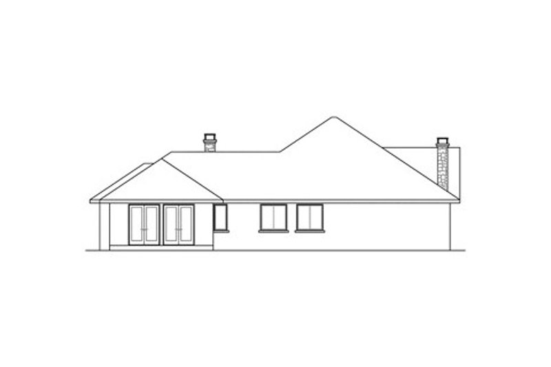 European Exterior - Other Elevation Plan #124-832 - Houseplans.com