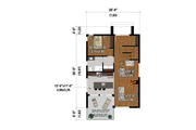 Cottage Style House Plan - 5 Beds 3 Baths 2084 Sq/Ft Plan #25-4925