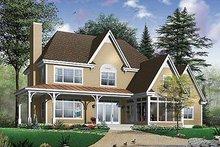 House Plan Design - Farmhouse Exterior - Front Elevation Plan #23-877