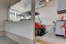 Home Plan - Golf Cart Storage