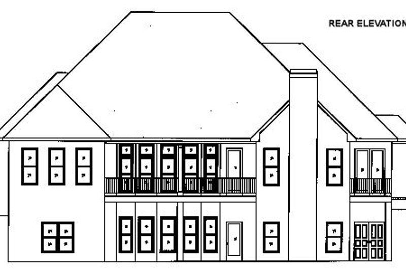 European Exterior - Other Elevation Plan #437-48 - Houseplans.com