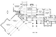 Craftsman Style House Plan - 4 Beds 3.5 Baths 4732 Sq/Ft Plan #48-233 Floor Plan - Main Floor Plan