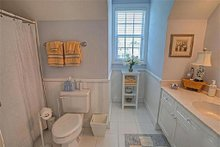 House Plan Design - Bathroom - 2600 square foot Southern home