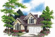 Traditional Style House Plan - 4 Beds 2.5 Baths 1994 Sq/Ft Plan #48-137 Exterior - Front Elevation