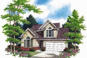 Traditional Exterior - Front Elevation Plan #48-137