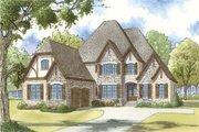 European Style House Plan - 4 Beds 3.5 Baths 3213 Sq/Ft Plan #923-31