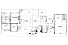 Craftsman Floor Plan - Main Floor Plan Plan #437-96
