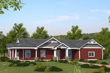 House Plan Design - Ranch Exterior - Front Elevation Plan #117-904