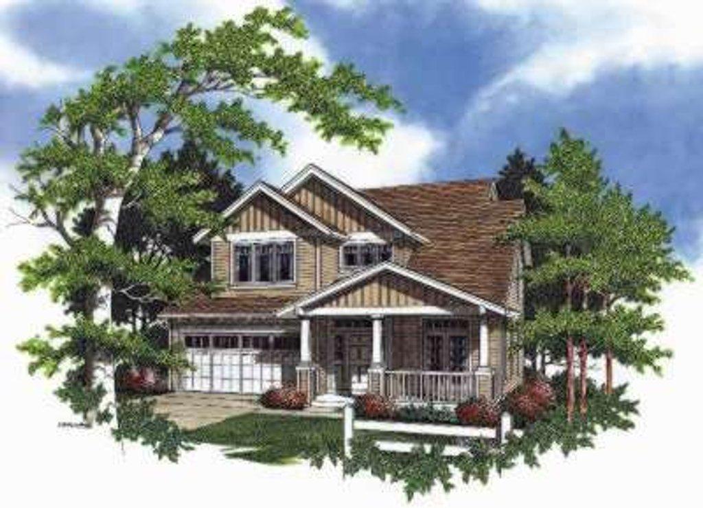 craftsman style house plan 5 beds 2 5 baths 2180 sq ft plan 48 174. Black Bedroom Furniture Sets. Home Design Ideas