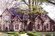 European Style House Plan - 5 Beds 4.5 Baths 5326 Sq/Ft Plan #54-168 Exterior - Other Elevation