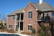 European Style House Plan - 3 Beds 3.5 Baths 4671 Sq/Ft Plan #437-51 Exterior - Rear Elevation