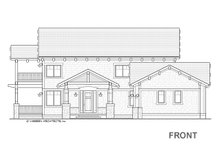 Craftsman Exterior - Front Elevation Plan #928-317