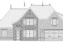 Country Exterior - Front Elevation Plan #932-209