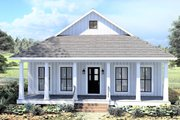 Farmhouse Style House Plan - 2 Beds 1 Baths 890 Sq/Ft Plan #44-222 Exterior - Front Elevation