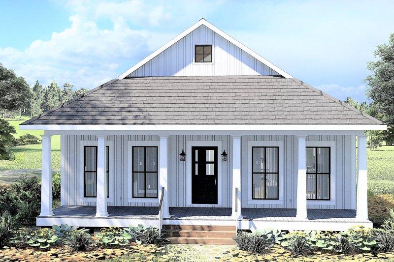 Farmhouse Exterior - Front Elevation Plan #44-222
