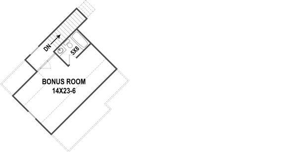 European Style House Plan - 3 Beds 2.5 Baths 2764 Sq/Ft Plan #119-428 Floor Plan - Other Floor Plan