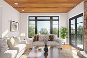 Prairie Style House Plan - 4 Beds 3 Baths 2098 Sq/Ft Plan #48-1048