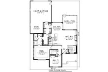 Ranch Floor Plan - Main Floor Plan Plan #70-1459