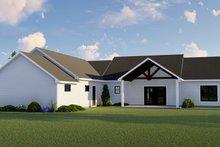 Architectural House Design - Farmhouse Exterior - Rear Elevation Plan #1064-98