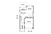 Craftsman Style House Plan - 3 Beds 2.5 Baths 1851 Sq/Ft Plan #48-631 Floor Plan - Main Floor Plan