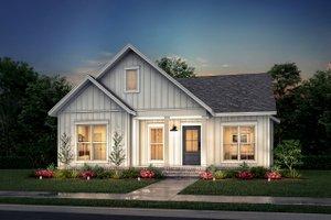 Cottage Exterior - Front Elevation Plan #430-247