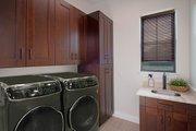 Mediterranean Style House Plan - 4 Beds 3 Baths 2953 Sq/Ft Plan #938-90 Interior - Laundry