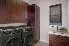 House Plan Design - Mediterranean Interior - Laundry Plan #938-90