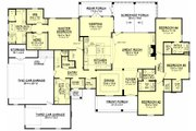 Traditional Style House Plan - 4 Beds 3.5 Baths 3195 Sq/Ft Plan #430-127 Floor Plan - Main Floor Plan