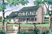 Country Style House Plan - 4 Beds 2.5 Baths 2404 Sq/Ft Plan #405-112