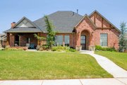 European Style House Plan - 5 Beds 3.5 Baths 3295 Sq/Ft Plan #65-536 Exterior - Front Elevation