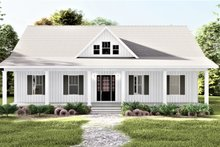 House Plan Design - Traditional Exterior - Front Elevation Plan #44-250