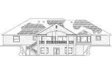 Traditional Exterior - Rear Elevation Plan #5-328