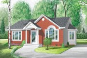 Cottage Style House Plan - 2 Beds 1 Baths 970 Sq/Ft Plan #23-117 Exterior - Front Elevation