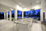 Contemporary Style House Plan - 4 Beds 4.5 Baths 4943 Sq/Ft Plan #930-512 Exterior - Outdoor Living
