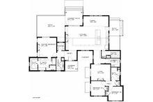 Ranch Floor Plan - Main Floor Plan Plan #434-18