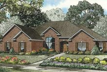 Home Plan - European Exterior - Front Elevation Plan #17-2280