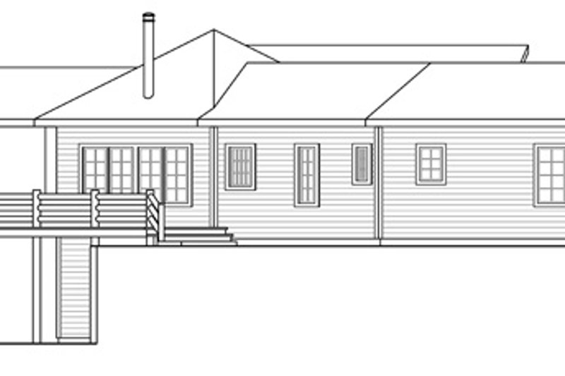 Craftsman Exterior - Other Elevation Plan #124-853 - Houseplans.com