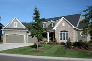 Traditional Style House Plan - 3 Beds 3.5 Baths 2971 Sq/Ft Plan #51-436 Exterior - Other Elevation