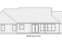 Farmhouse Exterior - Rear Elevation Plan #1074-10