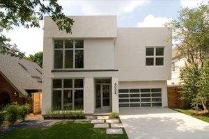 Modern Exterior - Front Elevation Plan #449-9